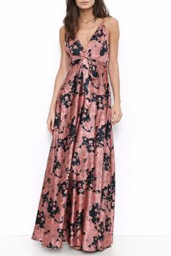 Shoptiques Product: Printed Satin Maxi