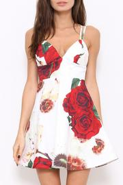 L'atiste Red Rose Mini Dress - Product Mini Image