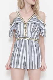 L'atiste Striped Romper - Product Mini Image
