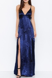 L'atiste Satin Maxi Dress - Front cropped