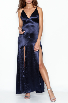 Shoptiques Product: Satin Slip Maxi Dress