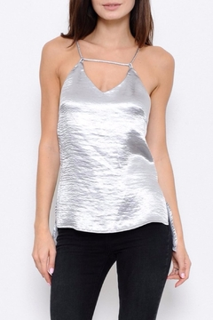 L'atiste Satin Strappy Tank Top - Product List Image