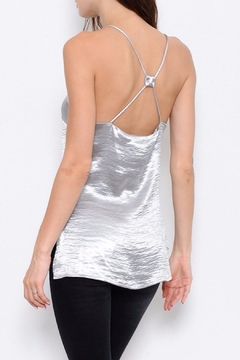 L'atiste Satin Strappy Tank Top - Alternate List Image