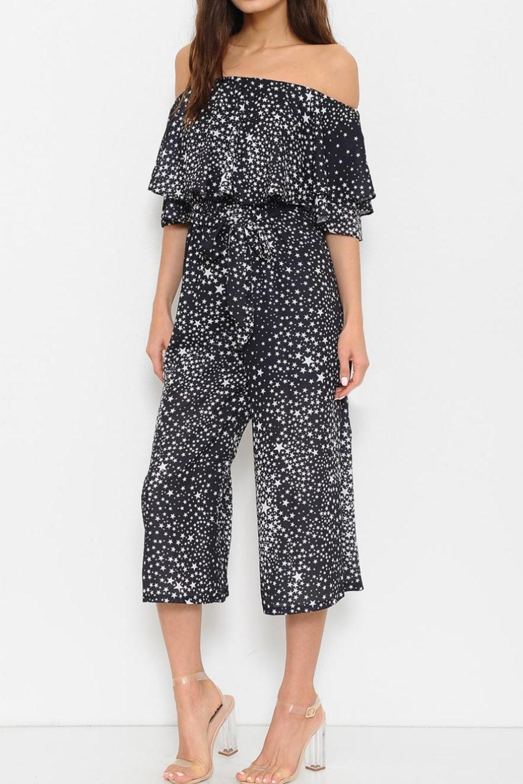L'atiste Seeing Stars Jumpsuit - Front Full Image