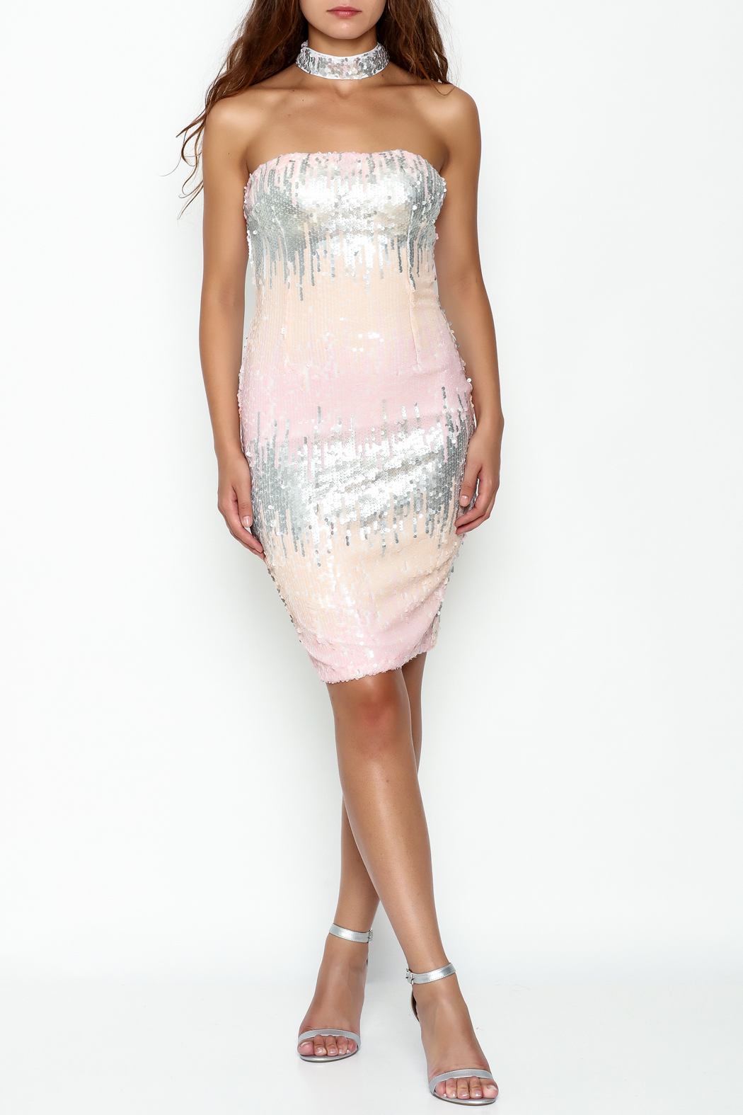 L'atiste Sequin Midi Dress - Side Cropped Image