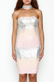 L'atiste Sequin Midi Dress - Front full body