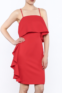 Shoptiques Product: Red Side Fall Dress