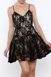 L'atiste Lace Fit Flare Dress - Product Mini Image
