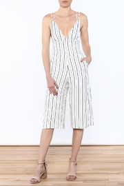 Shoptiques Product: Stripe Sleeveless Jumpsuit