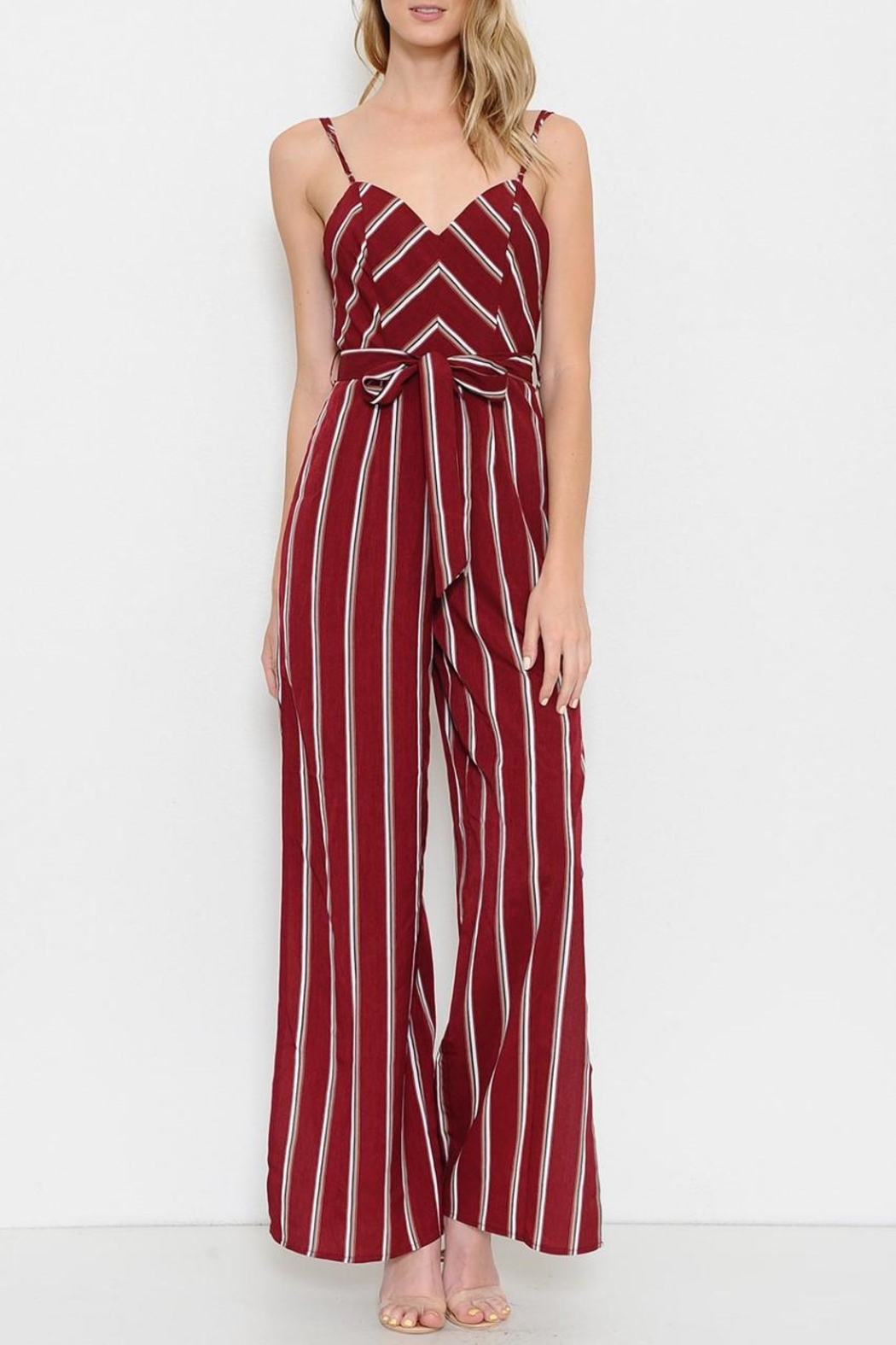 2f5e7086a7b6 L atiste Striped Jumpsuit from Orlando by Zingara Souls — Shoptiques