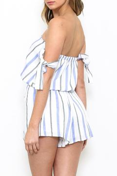 Shoptiques Product: Striped Romper