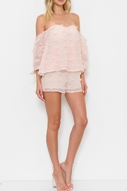 L'atiste Textured Romper - Back cropped