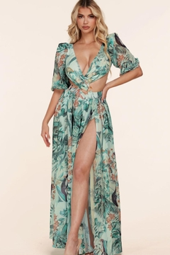 L'atiste Tropical Cut-Out Maxi - Product List Image