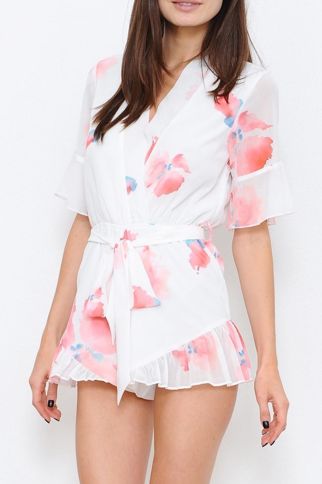 L'atiste Watercolour Romper - Back Cropped Image