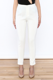 L'atiste White Skinny Pants - Side cropped