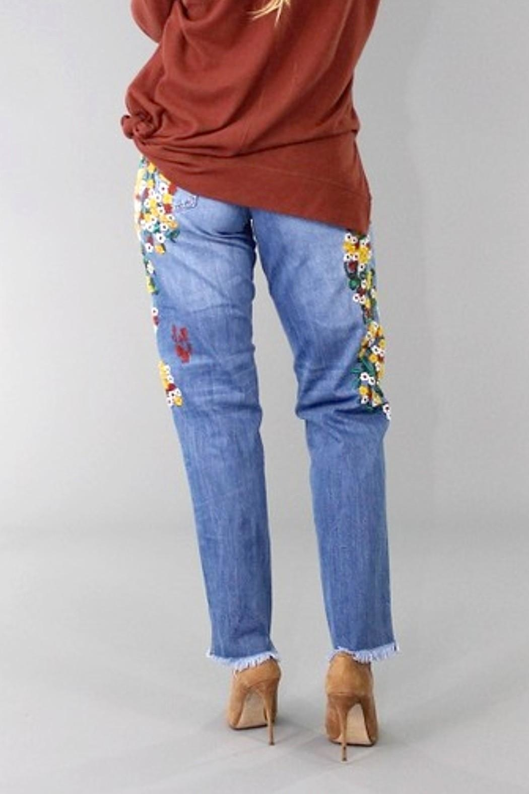 L&B Indian Summer Jeans - Side Cropped Image