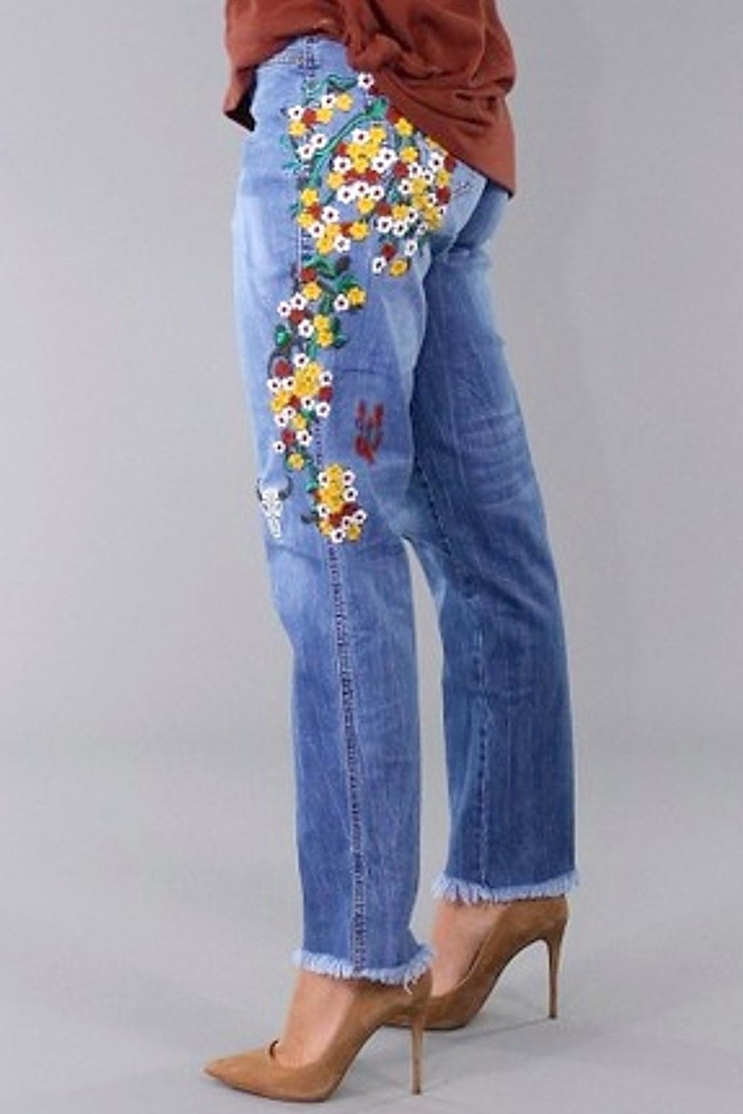 L&B Indian Summer Jeans - Front Full Image