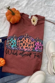 L&B Life Fall Graphic Tee - Front cropped