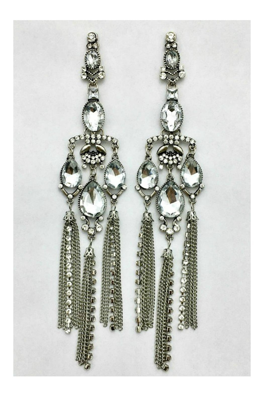 L'Imagine Art Deco Earrings - Side Cropped Image