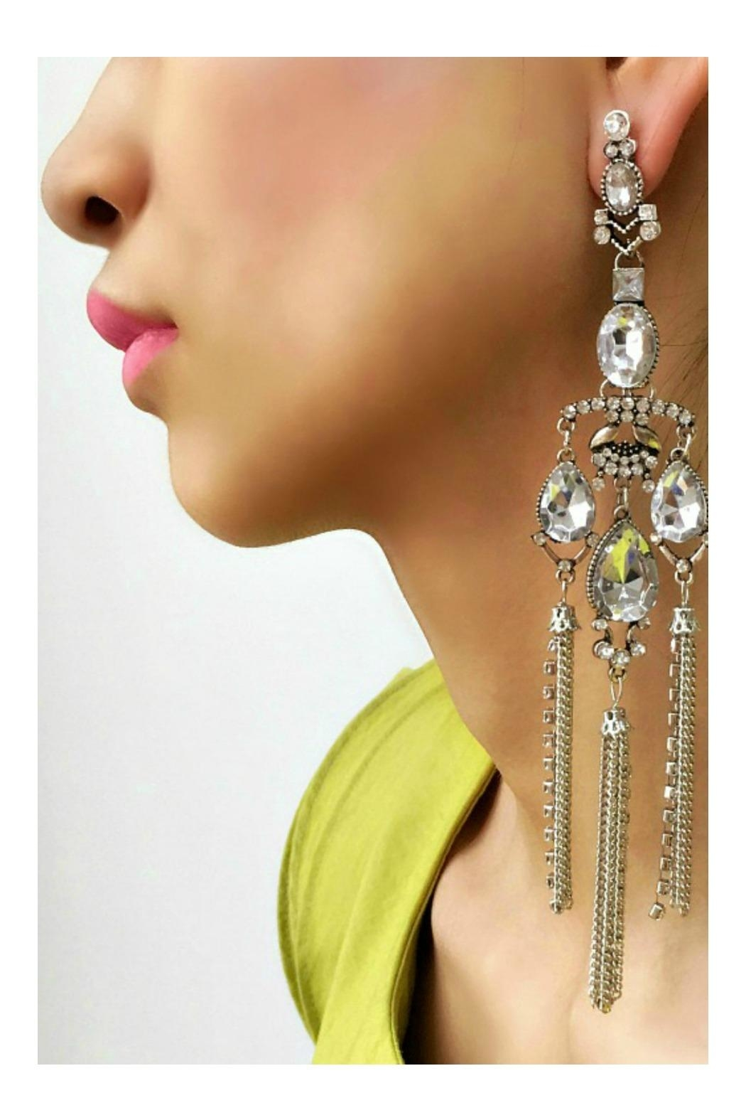 L'Imagine Art Deco Earrings - Front Full Image