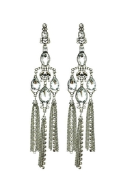 L'Imagine Art Deco Earrings - Front cropped