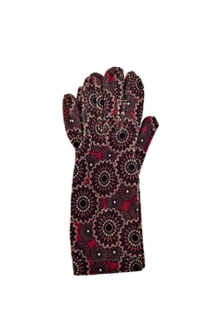 L'Imagine Berry Pattern Gloves - Alternate List Image