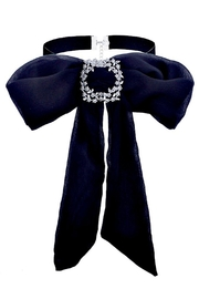 Vintage Scarves- New in the 1920s to 1960s Styles Chiffon Jabot Choker $27.50 AT vintagedancer.com