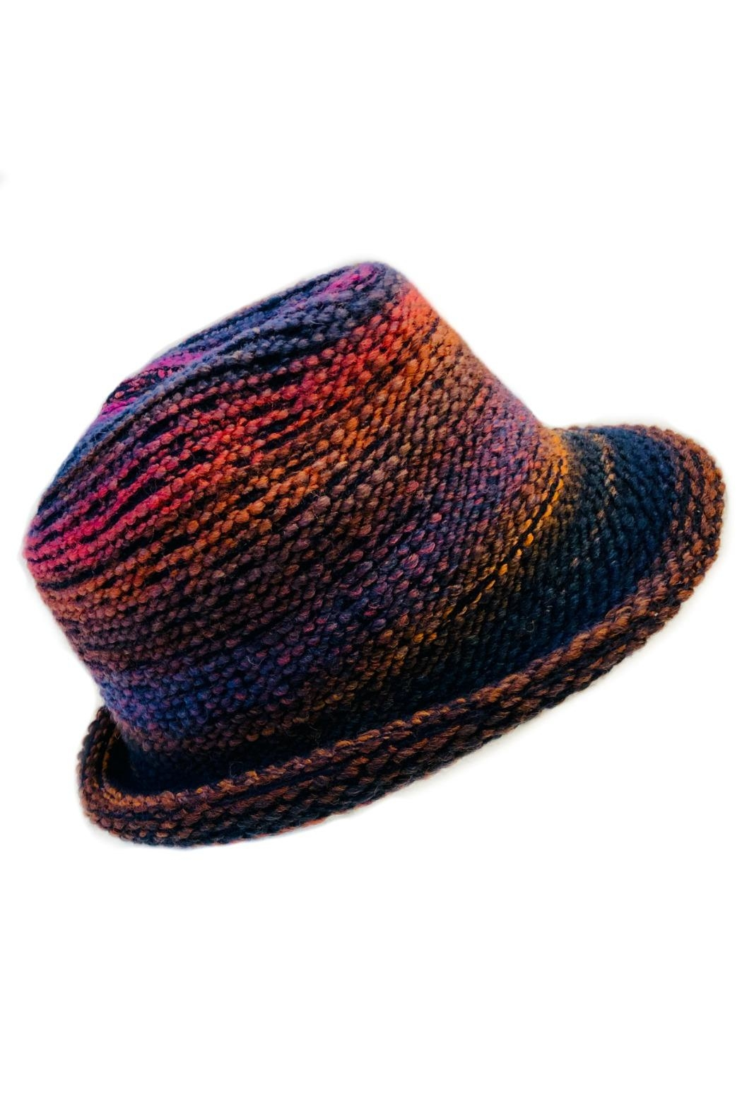 L'Imagine Fashion Woven Hat - Front Cropped Image
