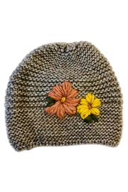 L'Imagine Flower Knit Beanie - Product Mini Image