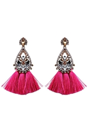 L'Imagine Fuchsia Tassel Jewel - Product Mini Image