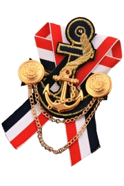 L'Imagine Gold Anchor Pin - Product Mini Image