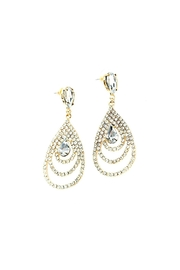 L'Imagine Gold Teardrop Earrings - Product Mini Image