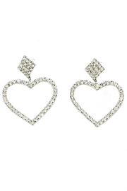 L'Imagine Heart Dangle Earrings - Product Mini Image