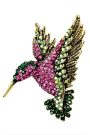L'Imagine Hummingbird Brooch - Product Mini Image
