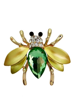 Shoptiques Product: Jewel Bee Pin