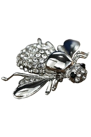 L'Imagine Jewel Bee Pin - Front cropped