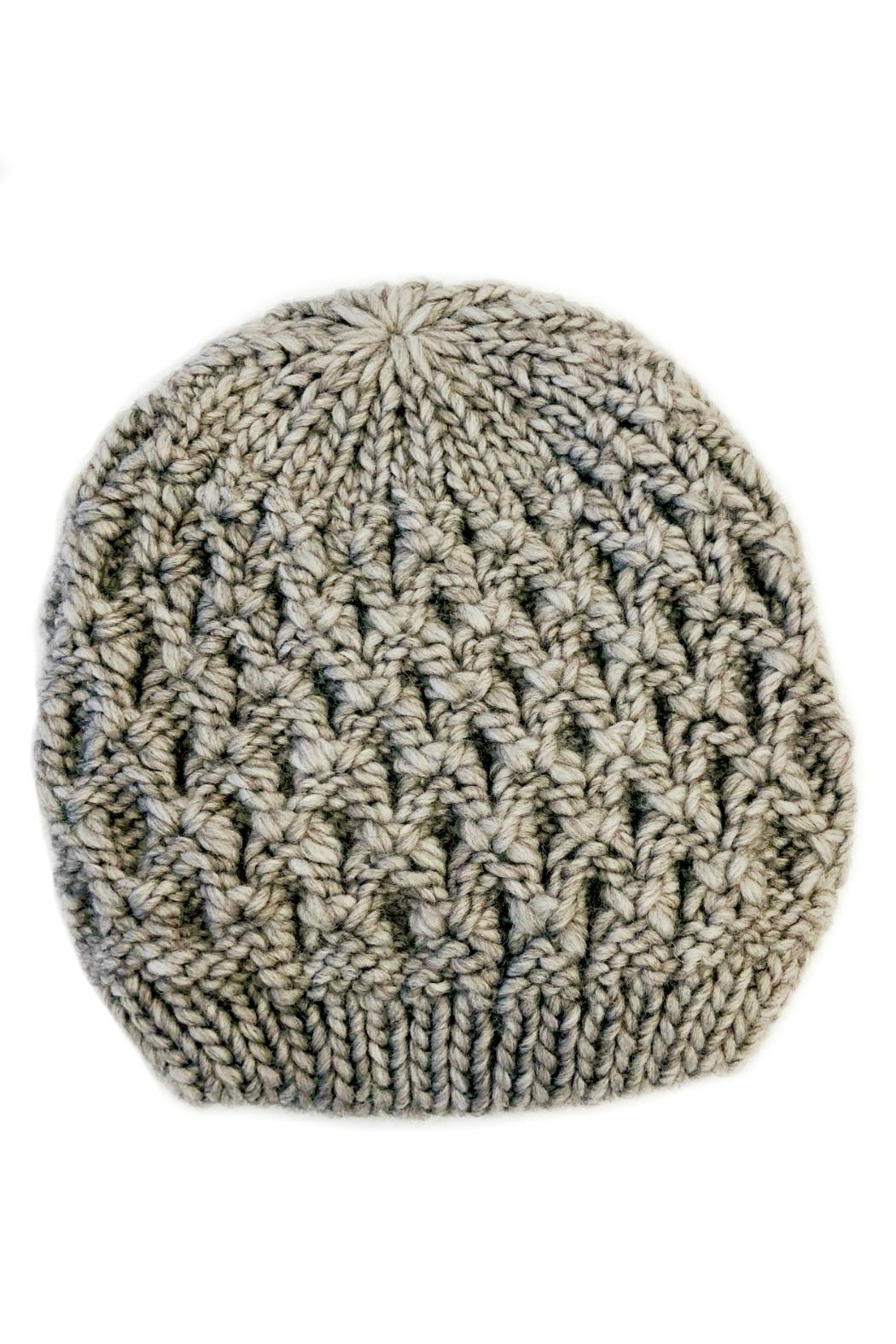 L'Imagine Knit Beanie - Front Cropped Image