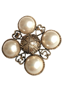 Shoptiques Product: Pearl Brooch