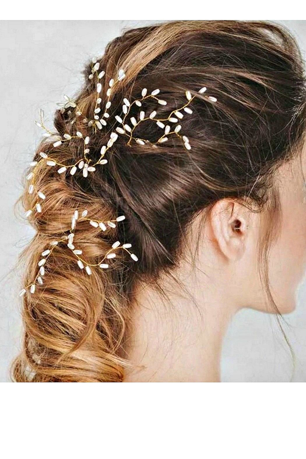 L'Imagine Pearl Hair Pin - Side Cropped Image