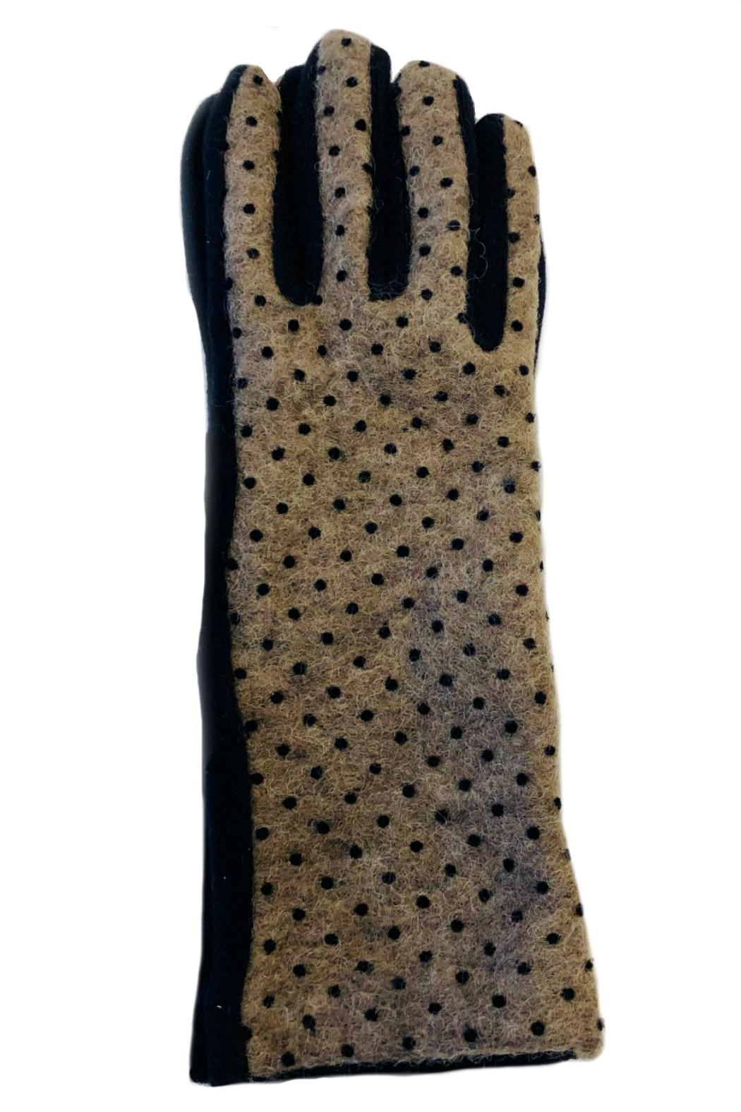 L'Imagine Pin Dots Gloves - Front Cropped Image