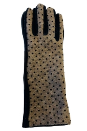 L'Imagine Pin Dots Gloves - Front cropped