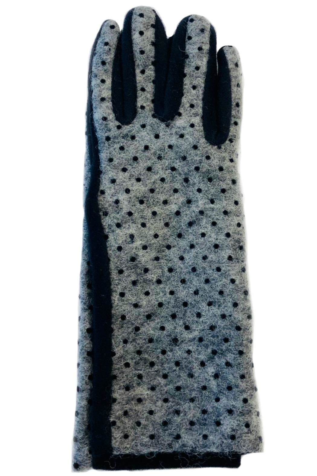 L'Imagine Pin Dots Gloves - Front Full Image