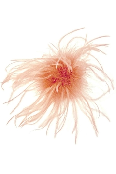 L'Imagine Pink Ostrich Pin - Product List Image