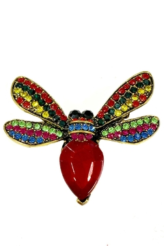 Shoptiques Product: Red Bee Brooch