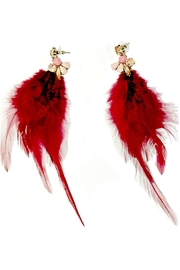 L'Imagine Red Jewel Feather - Product Mini Image