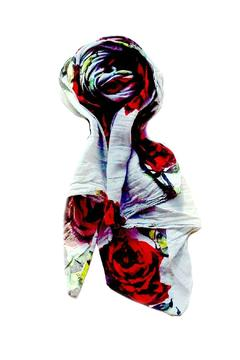 Shoptiques Product: Red Rose Scarf