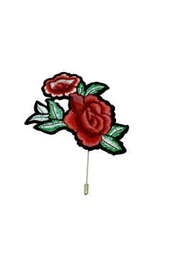 L'Imagine Rose Jacket Pin - Alternate List Image