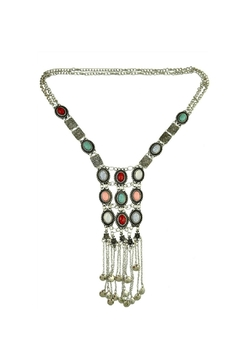 Shoptiques Product: Silver Stones Necklace