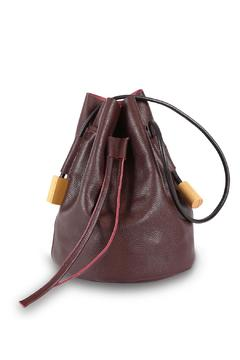 Shoptiques Product: Burgundy Bucket Bag