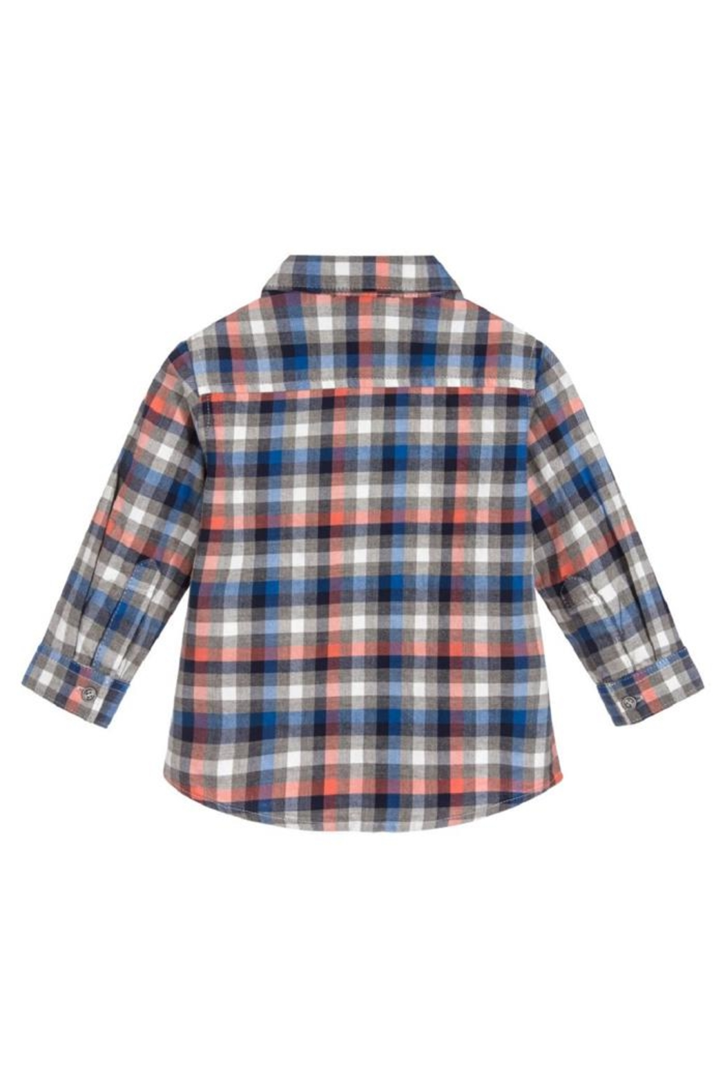 Mayoral L/s Checked Flannel - Front Full Image